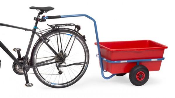 Handwagen-Kupplung für Fahrräder - Mehrpreis