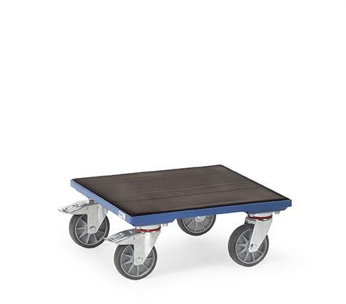 Kistenroller, rutschfeste Oberfläche 400 kg Tragkraft, 500 x 500 mm