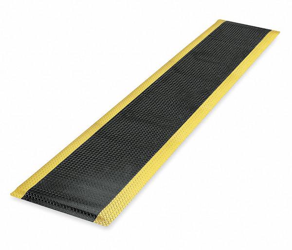 Anti-Ermüdungsmatte Trax, 910 x 1500 mm , schwarz-gelb