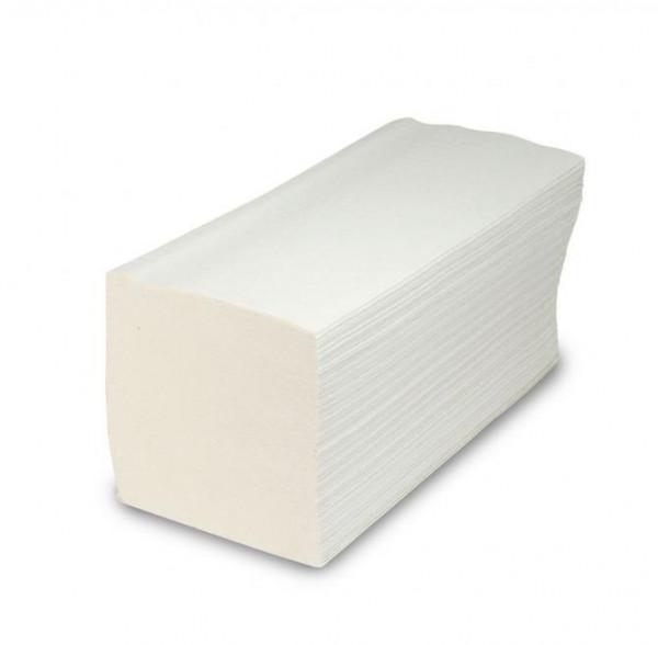 5000 Falthandtücher, 2-lagig, weiß, 250 x 232 mm