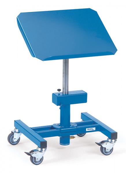 Materialständer 3290, 510x410 mm Ladefläche neigbar, fahrbar,150 kg Tragkraft, höhenverstellbar