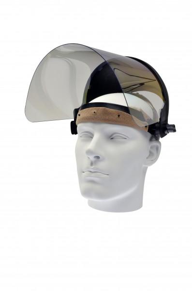 Schutzmaske mit Visier, hochklappbar