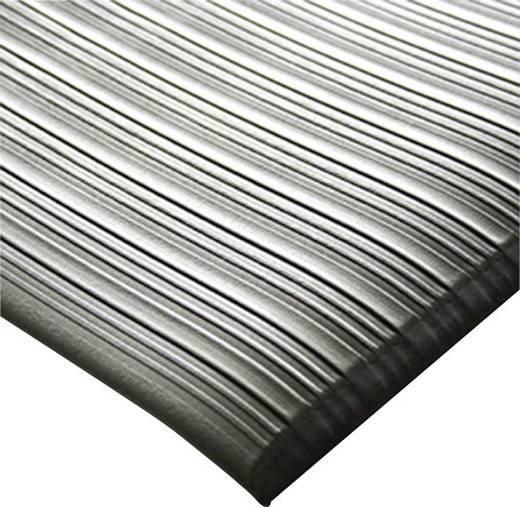 Arbeitsplatzmatte Orthomat® Ribbed, grau 900 x 1500 mm