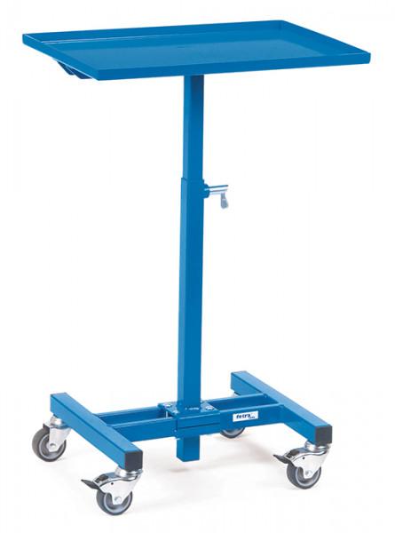 Materialständer 3270, 605x405 mm Ladefläche fahrbar,150 kg Tragkraft, höhenverstellbar720-995