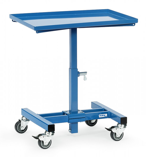 Materialständer 3260, 605x405 mm Ladefläche, fahrbar, 150 kg Tragkraft, höhenverstellbar 524-774