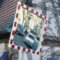 Verkehrsspiegel DIAMOND 3 Größen, aus SEKURIT-Sicherheitsglas für aussen
