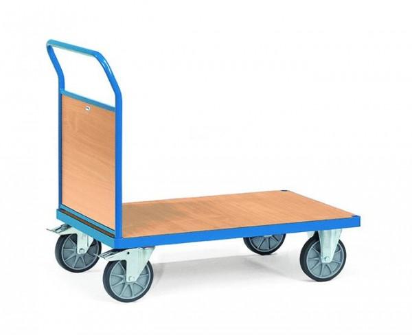 Plattformwagen 850x500 mm, 500 kg Tragkraft, Holzwände