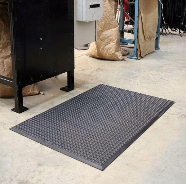 Arbeitsplatzmatte COBAelite®, schwarz 900 x 1200 mm-Copy