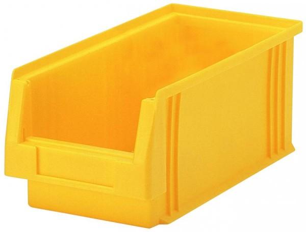Sichtlagerkästen PLK 3a rot 290x150x125 mm, aus Polypropylen (PP), stapelbar, VE = 25 Stück