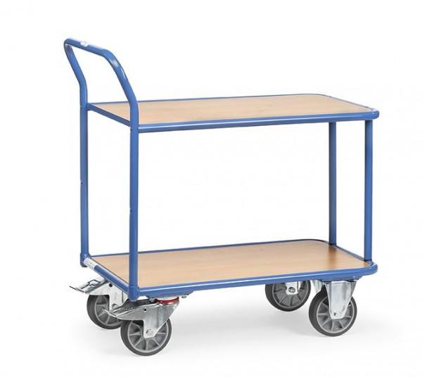 Tischwagen 400 kg Tragkraft, 2 Etagen 850x500 mm