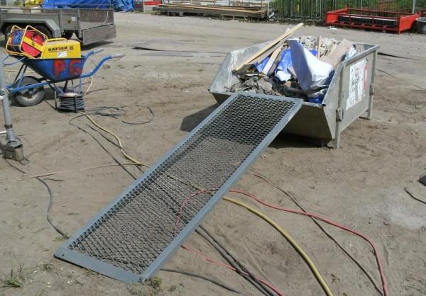 Gitter-Überfahrbrücken MAXI, Tragkraft 200 kg, Breite 600 mm, Länge 2000 mm