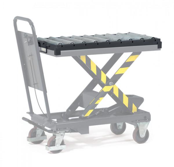 Rollenbahn mit Aufsteckrahmen, 500 kg Tragkraft