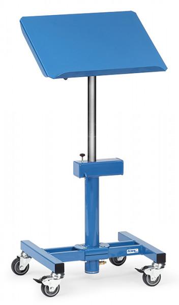 Materialständer 3291, 510x410 mm Ladefläche neigbar, fahrbar,150 kg Tragkraft, höhenverstellbar