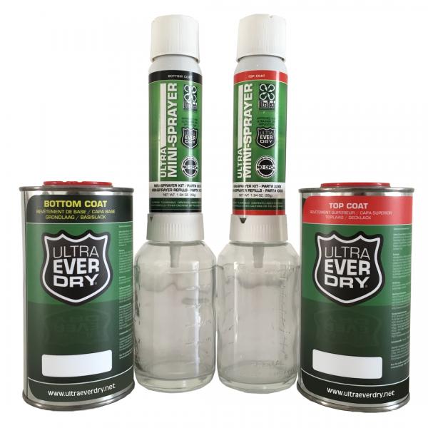 Ultra Ever Dry - SET, 500 ml + 2 Sprayer
