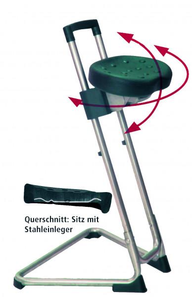 Arbeitstuhl Stehhilfe, Höhe 600-800 mm