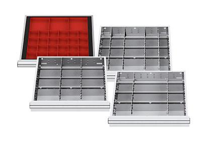 4 Schubladen-Einteilungs-Sets