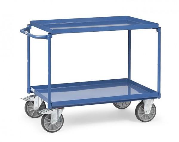 Tischwagen mit öldichter Wanne 400 kg Tragkraft, 1000x700 mm